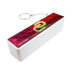 Oklahoma Sooners Portable Bank Charger