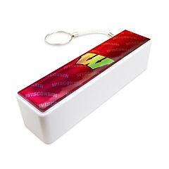 Wisconsin Badgers Portable Bank Charger