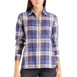 Women's Chaps Plaid Button-Down Shirt