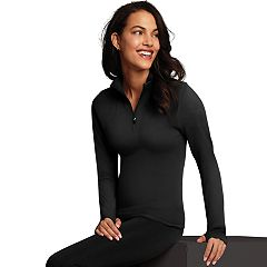 Women's Maidenform Sport Base Layer Seamless Half-Zip Top