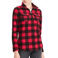 Women's Chaps Printed 1/4-Zip Pullover