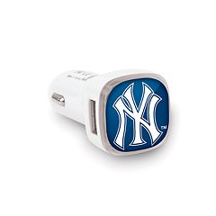 New York Yankees 2-Port Cellphone Car Charger