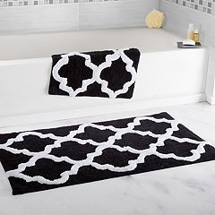 Portsmouth Home 2 pc Trellis Bath Mat Set