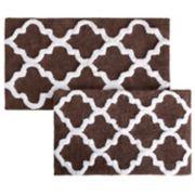 Portsmouth Home 2-piece Trellis Bath Mat Set