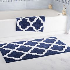 Portsmouth Home 2-piece Trellis Bath Mat Set