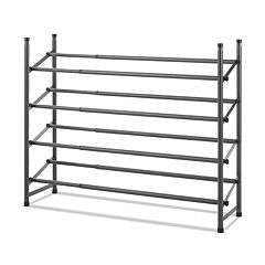 Whitmor 4-Tier Shoe Storage Rack