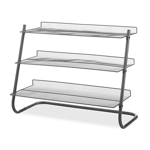 Whitmor 3-Tier Mesh Shelf Storage Rack