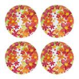 Celebrate Summer Together 4-pc. Floral Melamine Dinner Plate Set