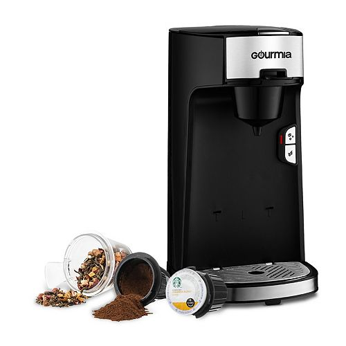 Gourmia Single-Serve Coffee & Tea Maker