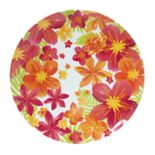 Celebrate Summer Together Floral Melamine Dinner Plate