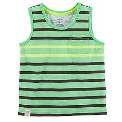 Toddler Boy Carter's Striped Subbed Pocket Tank Top
