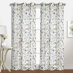 United Curtain Co. 2-pack Alicia Window Curtains