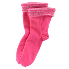 Girls 7-16 Striped Fleece Rainboot Liners