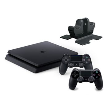 Sony PlayStation 4 1TB Bundle with Wireless Controller & Charging Station