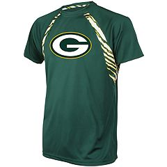 Men's Zubaz Green Bay Packers Zebra Tee