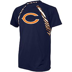 Men's Zubaz Chicago Bears Zebra Tee