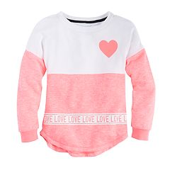 Girls 7-16 Miss Chievous Colorblock Sweater