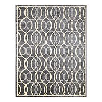 Thomasville Danza Celeste Geometric Indoor Outdoor Rug