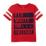 "Toddler Boy Carter's ""Red, White & Awesome"" Graphic Tee"