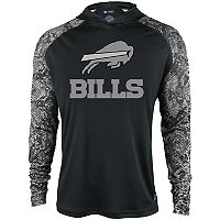 Men's Zubaz Buffalo Bills Post Lightweight Hooded Tee