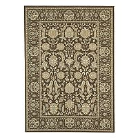 Thomasville Estate Velo Framed Floral Rug