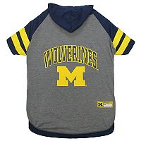 Michigan Wolverines Pet Hoodie