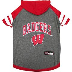 Wisconsin Badgers Pet Hoodie