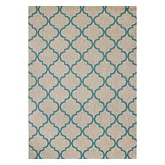 Studio by Brown Jordan La Palma Trellis Indoor Outdoor Rug
