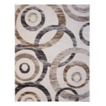 Gertmenian Spheres Textured Geometric Rug