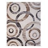 Gertmenian Spheres Textured Geometric Rug