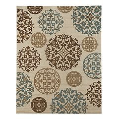 Gertmenian Emilia Textured Medallion Rug