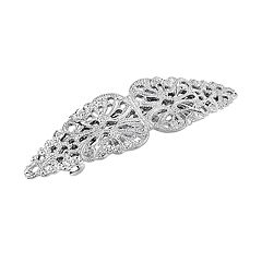 1928 Openwork Filigree Barrette Hair Clip