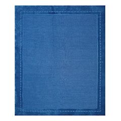 Kids Gertmenian Blue Pinstripe Rug