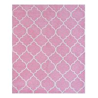 Kids Gertmenian Pink Trellis Rug