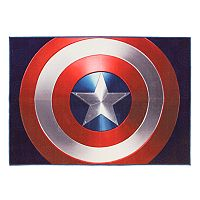 Marvel Captain America Shield Rug - 4'6