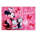 "Disney's Minnie Mouse Rug - 4'6"" x 6'6"""
