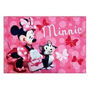 "Disney's Minnie Mouse Rug - 4'6"" x 6'6"""