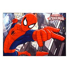 Marvel Ultimate Spider-Man Rug - 4'6' x 6'6'