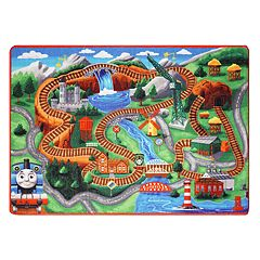 Thomas & Friends Jumbo Play Rug - 4'6' x 6'6'