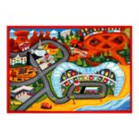 "Disney / Pixar Cars 3 Jumbo Play Rug - 4'6"" x 6'6"""