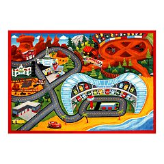 Disney / Pixar Cars 3 Jumbo Play Rug - 4'6' x 6'6'