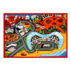 Disney / Pixar Cars 3 Jumbo Play Rug - 4'6' x 6'6'