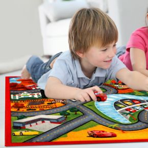 "Disney / Pixar Cars 3 Jumbo Play Rug - 4'6"" x 6'6"""