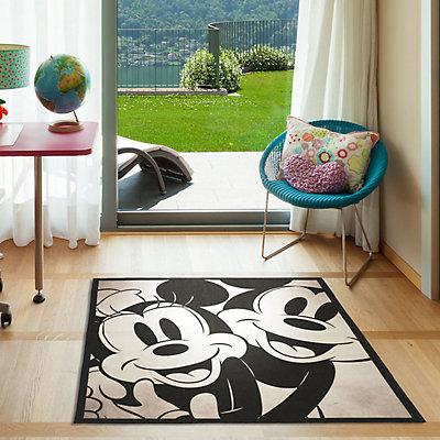 "Disney's Mickey & Minnie Mouse Classic Retro Rug - 4'6"" x 6'6"""