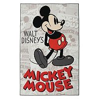 Disney's Mickey Mouse Classic Retro Rug - 4'6