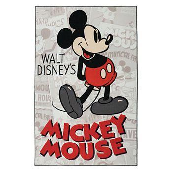 "Disney's Mickey Mouse Classic Retro Rug - 4'6"" x 6'6"""