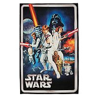 Star Wars Retro Rug - 4'6
