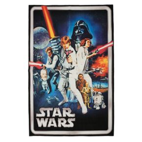 "Star Wars Retro Rug - 4'6"" x 6'6"""