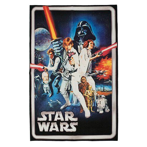 Star Wars Retro Rug - 4'6