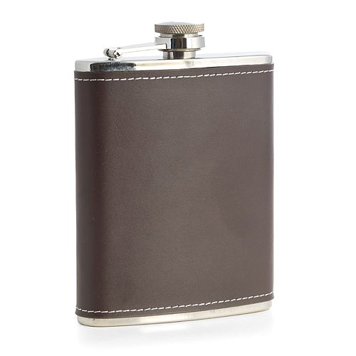 Bey-Berk 6-ounce Stainless Steel Flask
